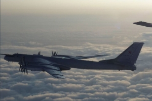 Russian bombers intercepted by US and Canadian fighter jets near Alaska