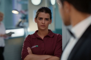 Casualty airs Gem Dean's final scenes