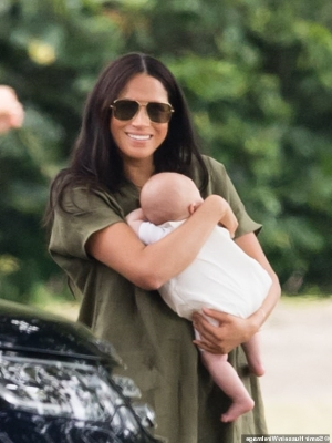 Meghan Markle has become a victim of 'mum shaming' and Buckingham Palace need to do more to protect her 'motherly image,' a PR expert claims