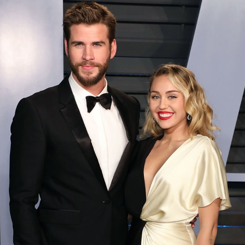 Miley Cyrus spotted kissing Kaitlynn Carter after split with Liam Hemsworth