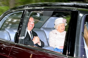 Royals rally round Prince Andrew as he is joined at church by The Queen, Charles and Beatrice a day after his past came back to haunt him with suicide of billionaire paedophile Jeffrey Epstein