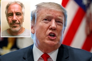 Trump retweets post promoting conspiracy theory about Jeffrey Epstein's death