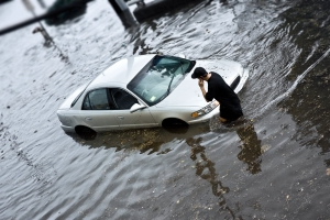 How to Avoid Getting Soaked by a Flood-Damaged Vehicle