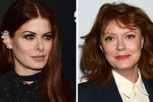 Debra Messing slams Susan Sarandon (again!) over Bernie Sanders support