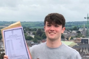 'I wouldn't say I'm a die-hard studier or anything' - Cork student who got 8 H1s 'shocked' by results