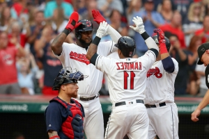 Indians strike in ninth to knock off Red Sox