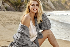 Kate Upton says her unretouched Health magazine cover is a 'step forward'