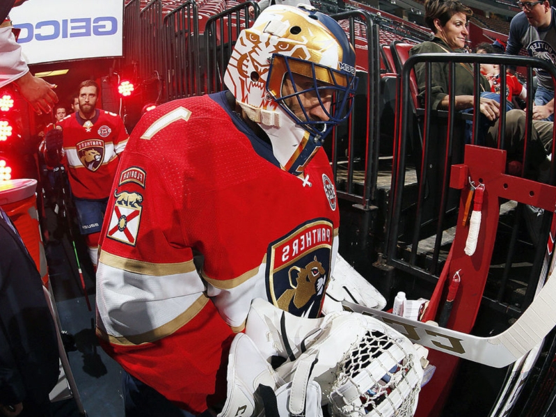Luongo will be 1st Panther to have number retired in franchise history