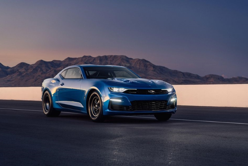 News: The one and only Chevy eCOPO Camaro electric drag-racer is for