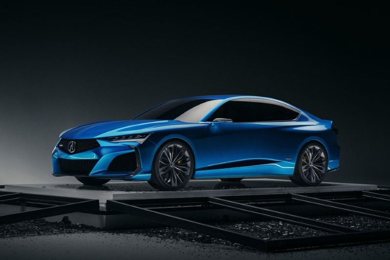 News Acura S Type S Concept Is The Tougher Turbocharged