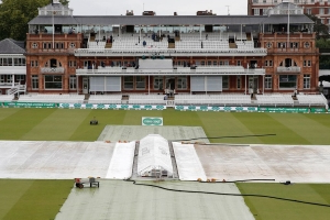 Day one at Lord's washed out