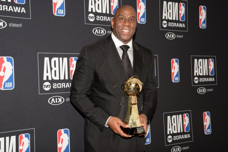 Magic Johnson celebrates 60th birthday by sharing top 60 lists