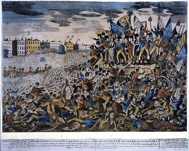 Peterloo Massacre: how a peaceful political protest in Manchester 200 years ago ended with 18 people being killed