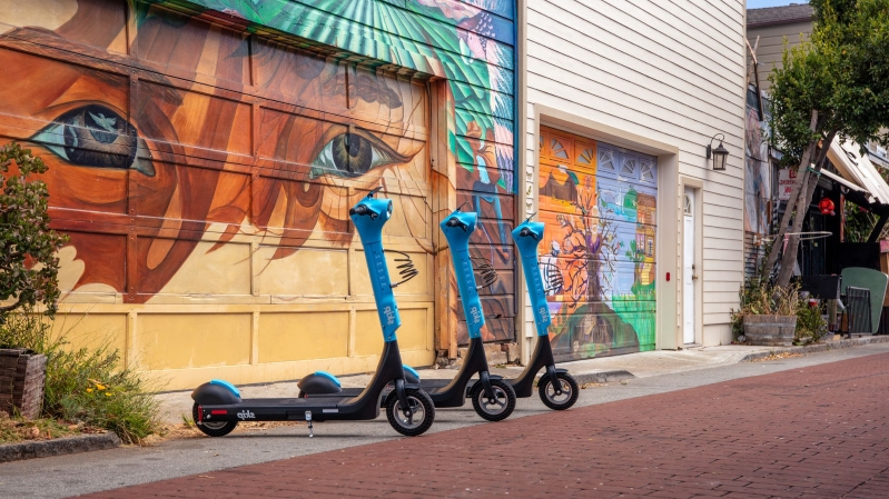 Technology: Skip's new scooter has a sturdier deck, bigger