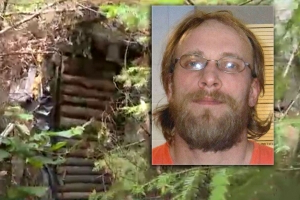 Fugitive spends three years hiding in solar-powered bunker
