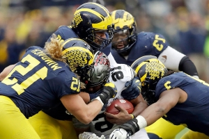 Michigan trolls rival Ohio State over attempt to trademark 'THE'