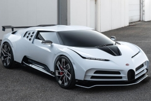 Bugatti Centodieci, a 1577-HP Hypercar, Revealed at Pebble Beach