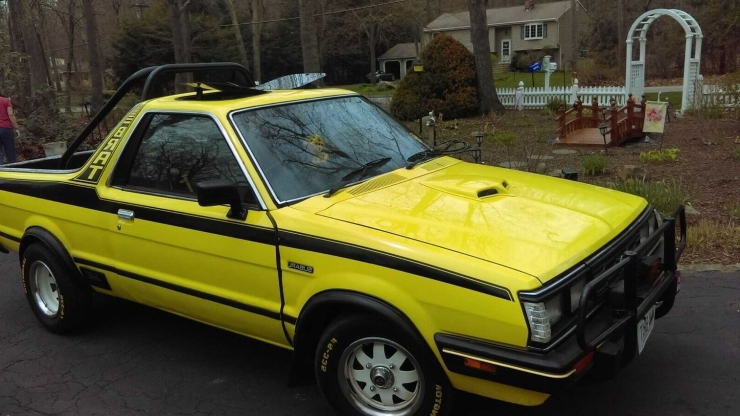 Get Spoiled With This 1984 Subaru Brat