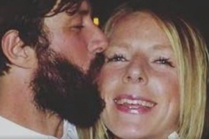 Sean McKinnon's fiancee ran barefoot for her life