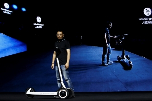 Segway-Ninebot's new e-scooter can drive itself to a charger