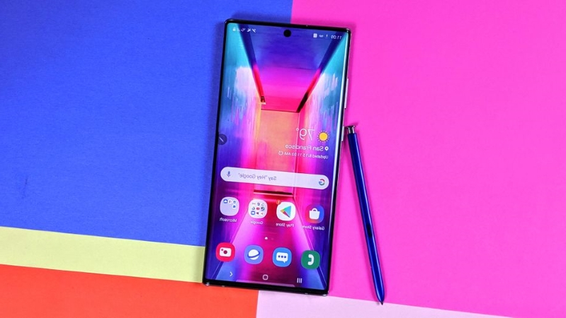 Technology 7 Note 10 Wallpapers That Hide The Selfie Camera