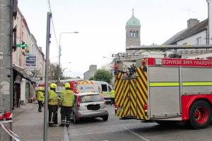 Car 'mounts footpath and hits pedestrian' in Clonmel, Co Tipperary