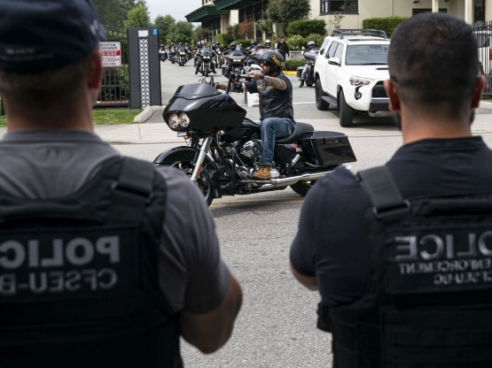 Hells Angels pay respects to slain B.C. biker Suminder Grewal