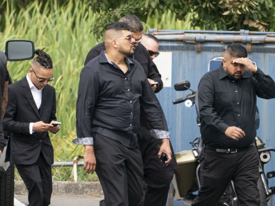 Canada: Hells Angels pay respects to slain B C  biker