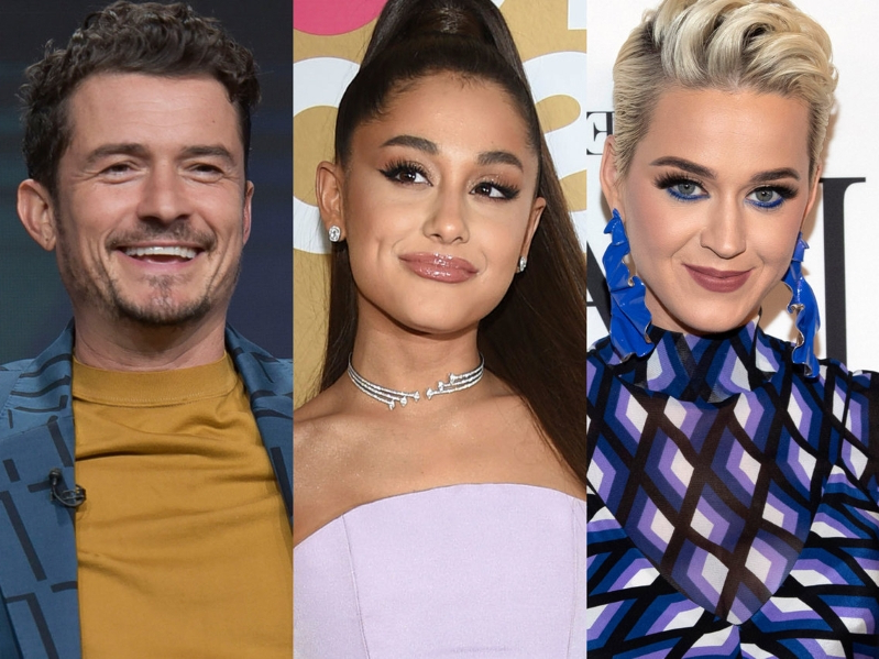 Katy Perry says Ariana Grande secretly paid for her and fiancé Orlando Bloom's meal: 'That's such a boss move'