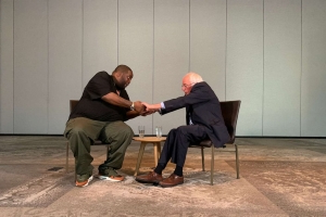 Bernie Sanders and 'Killer Mike' talk race, faith and hurt in America