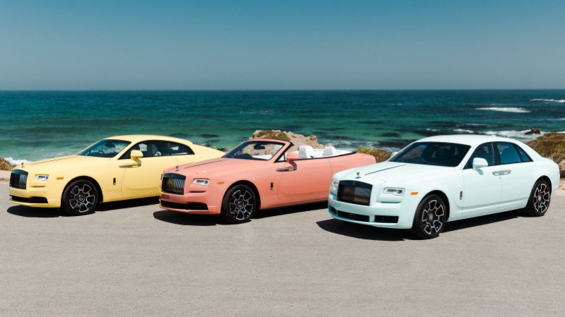 Rolls-Royce brings Pebble Beach 2019 Collection to Monterey