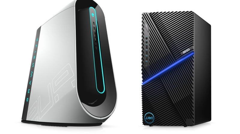 Alienware Aurora R9 and G5 5090 are Dell's new bang-for-the-buck gaming PCs