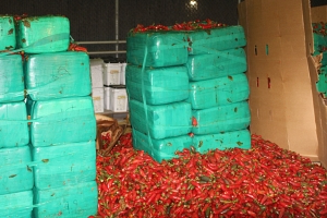 Nearly 4 Tons Of Marijuana Found Mixed In With Shipment Of Jalapeño Peppers