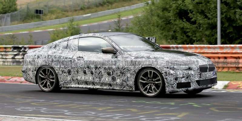 Next-Gen BMW 4-Series Spied Looking Good and Nearly Ready for Production