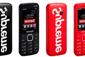 Supreme's 'burner' phone is built for hypebeasts