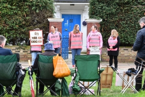 Court upholds protest-free zone outside abortion clinic