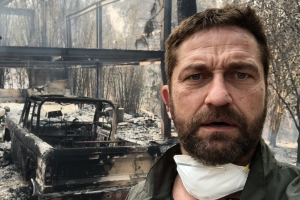 Gerard Butler Opens Up About the Emotional Process of Rebuilding His Home After California Wildfire