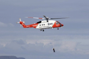 Man and two children airlifted to hospital after difficulty swimming by Kerry coast