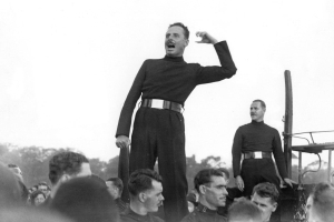 Oswald Mosley: The true story of the fascist 'blackshirt' politician, portrayed by Sam Claflin in Peaky Blinders season 5