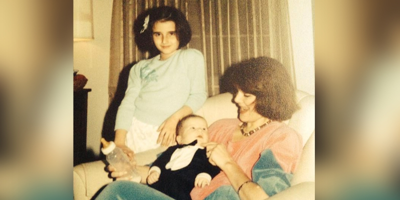 As a rainbow baby, I never really asked my mom about her miscarriage. Until now