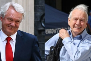 David Davis And John Humphrys Share 'Joke' About Man Punching His Wife