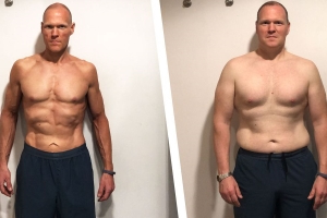 A Few Tweaks to His Diet Helped This Guy Get Ripped in His Forties
