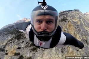 British NASA rocket scientist and champion wingsuit pioneer Angelo Grubisic, 38, plummets to his death in Saudi Arabia after starting the 'Icarus Project' to make the daredevil pursuit SAFER