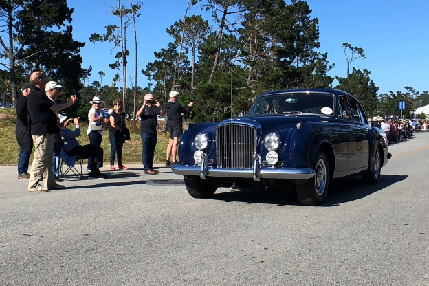 In Photos: Priceless Pebble Beach Classic Cars on the Road