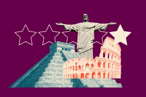 The best 1-star reviews of the Seven Wonders of the World