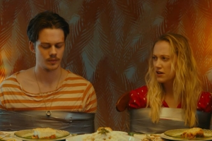 Bill Skarsgård And Maika Monroe Are Robbers On The Run In Trailer For Comedic Horror Flick 'Villains'