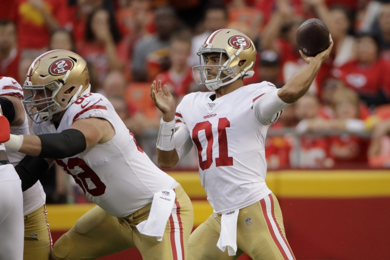 NFL Preseason Blitz: Jimmy Garoppolo rallies after a rough first game back
