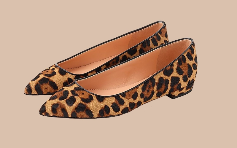 These Leopard Flats Prove Animal Print