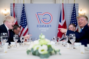 Trump expresses confidence on Brexit talks