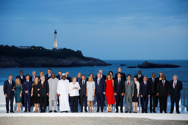 G7 leaders struggle for breakthrough on economy, Iran
